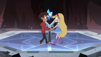 S4E13 Marco and Star start to dance