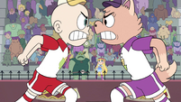 S4E16 Star and Buff Frog watch the players fight