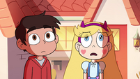 S4E29 Star and Marco watching Tom leave