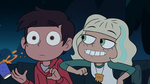 S2E41 Jackie pokes Marco Diaz with her elbow