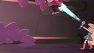 S3E14 Star Butterfly propels Marco into the air