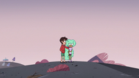 S3E19 Marco Diaz consoling Kelly