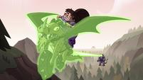 S3E37 Nachos gets hit by Meteora's magic