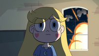 S4E29 Explosion outside window behind Star