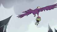 S2E2 Eagle flies into the sky with Ludo
