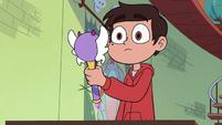 S3E23 Marco Diaz holding Star's magic wand