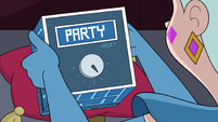 S3E29 The Box of Truth on 'party' setting