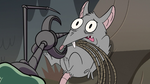 S2E12 Mewnian rat about to be tortured