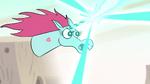 S2E13 Pony Head firing a magic beam
