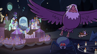 S2E27 Bald eagle flying toward Star Butterfly