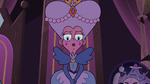 S3E29 Queen Moon looking down at Eclipsa