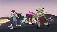 S3E19 Demon girl chasing a blushing skeleton