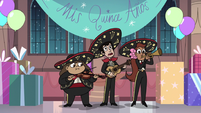 S3E25 Mariachi band playing music