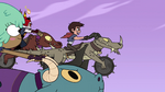 S4E22 Marco Diaz leading the Riders Club