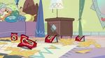 S2E25 Mess of Cornritos on Star's bedroom floor