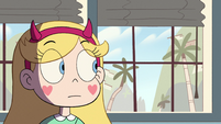 S2E38 Star Butterfly looking out Skeeves' window
