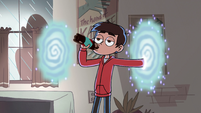 S2E31 Marco Diaz drinking a bottle of soda