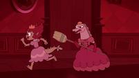 S3E33 Lizard princesses charging into battle
