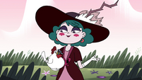 S4E23 Eclipsa reveals rooster with its beak tied