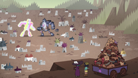S4E33 Janna and Eclipsa watching battle of titans