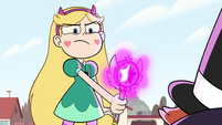 S2E29 Star Butterfly threatening Preston Change-O