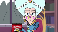 S3E28 Queen Butterfly looking resigned