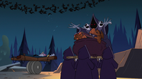 S3E12 Demoncists carrying a large cauldron