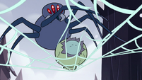S2E2 Giant spider cutting Ludo loose