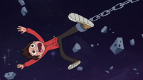 S3E18 Marco getting helplessly dragged through space