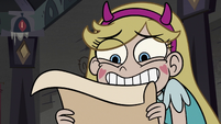 S3E20 Star Butterfly looking very thrilled