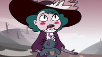 S3E36 Eclipsa trying to reason with Meteora