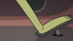 S2E13 Roy stepping on the truck's gas pedal