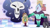 S3E11 Rhombulus and Omnitraxus examining Star