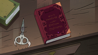 S3E30 Ludo's scissors and black metallurgy book