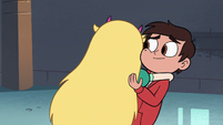 S3E32 Star Butterfly hugging Marco Diaz