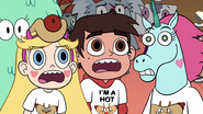 S2E13 Star, Marco, and Pony Head in complete shock