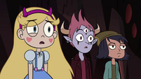S4E13 Star, Tom, and Janna listening to Marco