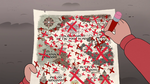 S4E1 Map of Mewni with X's all over