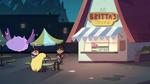 S4E26 Star, Marco, and StarFan still at Britta's Tacos