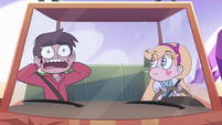 S4E31 Marco Diaz screaming in terror