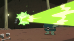 S2E20 Meat Fork gets blasted with green magic