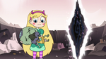 S3E7 Ludo jumps in Star Butterfly's arms