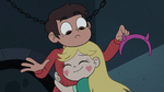 S3E7 Marco Diaz removes Star's headband