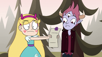 S4E24 Star looks at the invitation again