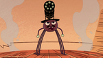S2E22 Spider With a Top Hat filled with determination