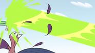 S2E14 Ludo and minions get blown backward