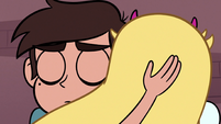 S3E8 Marco Diaz tenderly hugging Star Butterfly