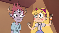 S4E6 Star Butterfly motioning a high-five