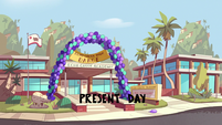 S2E27 Echo Creek Academy decorated for school dance