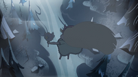 S2E2 Star Butterfly falling out of the air